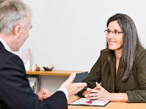 UCK-Expertin Claudia Kirsch im Coaching