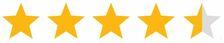 4,5-Sterne-Bewertung