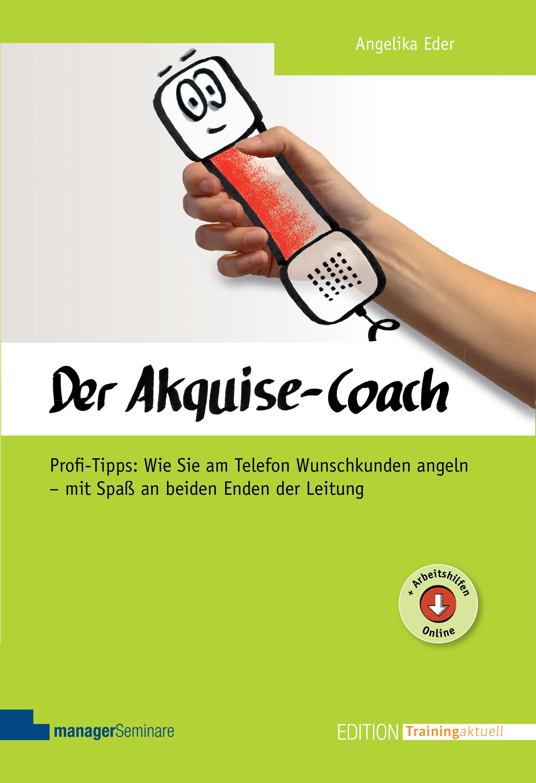 Buchtitel: Akquise-Coach von Angelika Eder