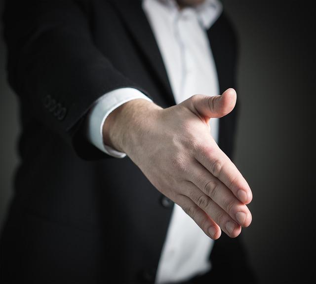 Beitragsbild Mini-Job: Handschlag