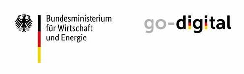 Go-digital Logo vom Bundesministerium für Wirtschaft