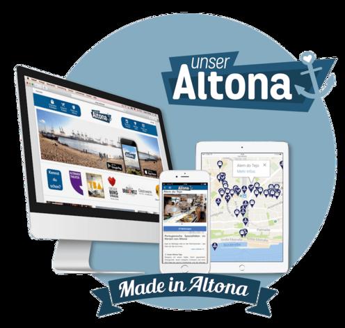 "Existenzgründung im Team: Logo ""Unser Altona"""