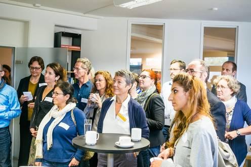 Interessierte Zuhörer im Vortrag beim Zirkeltraining 2018