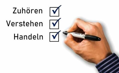 Checkliste: Zuhören Verstehen Handeln